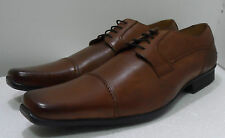 CLARKS MENS CKLEY TAN BROWN LEATHER SHOES UK SIZE 7,10.5 G