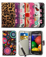 For Nokia Lumia 530 Teléfono Estampado Funda Carcasa & Puntero Stylus Retráctil