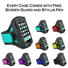 Sports Jogging Gym Running Net Armband Holder Case Cover For Apple iPhone 4S 4G