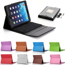 Stand Leather Cover Case with Bluetooth Keyboard for Apple iPad 2 3rd 4th Gen US