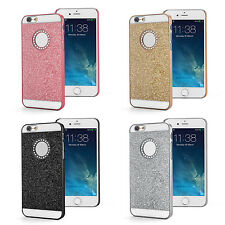 """for iPhone 6S 4.7"""" Bling Glitter Sparkle Crystal Rhinestone Hard Case Cover+Flim"""