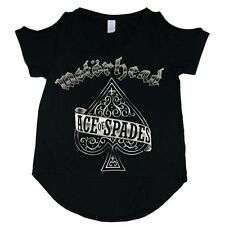 Official Motorhead - Ace Of Spades - Ladies Cut Out T-Shirt