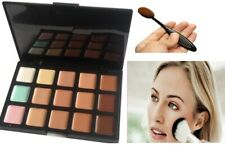 15 Color Contour Face Makeup Cream Concealer Camouflage Palette Kit Set+ Brush
