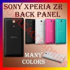 ACM-HIGH QUALITY BACK BATTERY DOOR PANEL for SONY XPERIA ZR HOUSING COVER CASE