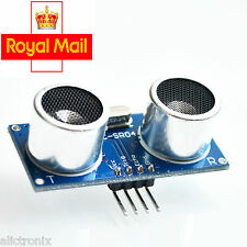 1/2 Pcs Ultrasonic Module HC-SR04 Distance Measuring Sensor for Arduino, Pi