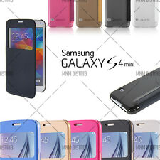 ETUI COQUE HOUSSE FLIP COVER VIEW SAMSUNG GALAXY S4 MINI + FILM OFFERT