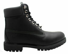 Timberland AF 6 Inch Prem Mens Boots Black Leather Lace Up Casual 6556A T1