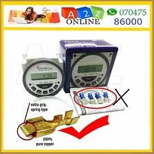 Frontier 5Pin-Energy Saving Programmable Timer Switch-Automatic On-Off