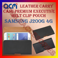 ACM-BELT CASE for SAMSUNG J200G 4G MOBILE LEATHER POUCH COVER HOLDER HOLSTER NEW