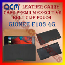 ACM-BELT CASE for GIONEE F103 4G MOBILE LEATHER POUCH COVER HOLDER HOLSTER CLIP