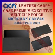 ACM-BELT CASE for MICROMAX CANVAS JUICE 3 PLUS Q394 MOBILE LEATHER POUCH COVER