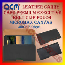 ACM-BELT CASE for MICROMAX CANVAS JUICE 3 Q392 MOBILE LEATHER POUCH COVER HOLDER