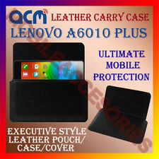 ACM-HORIZONTAL LEATHER CARRY CASE for LENOVO A6010 PLUS MOBILE POUCH COVER NEW