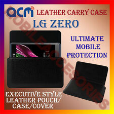 ACM-HORIZONTAL LEATHER CARRY CASE for LG ZERO MOBILE POUCH COVER HOLDER LATEST
