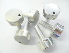 MGF AND MG TF ALLOY HEATER KNOBS, POLISHED OR SATIN FINISH, BRAND NEW (BGF902_)
