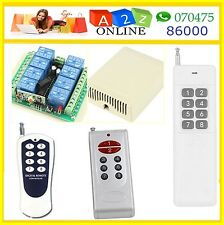 8 Ch Remote Control Switch-Rf Learning-Many Models-2-Select !!!!