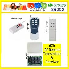 6Channel Wireless RF Remote Control Switch ON/OFF Home Automation so  model to