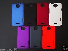 Premium Imported Hard Back Shell Cover Case Matte For HTC One X PLAIN