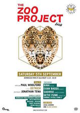 OFFICIAL Zoo Project Ibiza Club Poster Party 5th September 2015 Paul Woolford