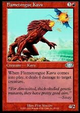 2x Kavu Lingua Fiammeggiante - Flametongue Kavu MTG MAGIC PLS Planeshift Eng/Ita