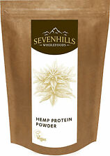 Sevenhills Wholefoods Raw Hemp Protein Powder | Energy Fitness Diet Detox