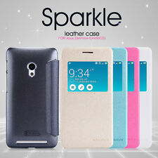 Nillkin Sparkle S-View Leather Flip Case Cover For ASUS Zenfone 4 A450CG 4.5""