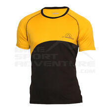 - La Sportiva T-Shirt Swing Event Tee, Yellow/Grey