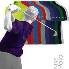 Nike NK251 Mens Victory Solid Dri-Fit Golf Polo Shirt (12 Cols)