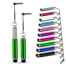 RETRACTABLE TOUCH STYLUS PEN GREEN FOR VARIOUS MOBILE PHONES