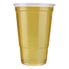*Clear Disposable Plastic Pint Pots/Glasses Good Quality. (CPG005)