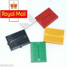 2 pcs SYB-170 Solderless Prototype Mini Breadboard for Arduino (in 5 colors)