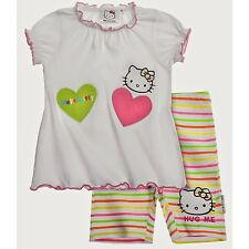 Hello Kitty Baby T-Shirt mit Leggins (Weiß)