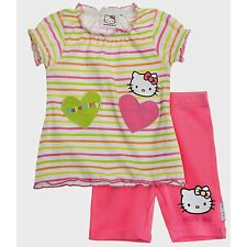 Hello Kitty Baby T-Shirt mit Leggins (Bunt)