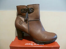 Marco Tozzi Women's Boots, Ankle boots brown, soft Leather, RV NEW