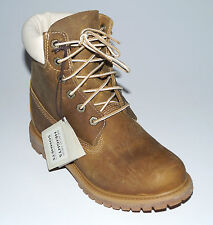 "NUOVO TIMBERLAND Scarpe Donna Earthkeepers Premium 6"" 8229A Stivali Di Pelle"