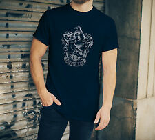 Harry Potter Ravenclaw mens T-Shirt Navy blue with silver crest