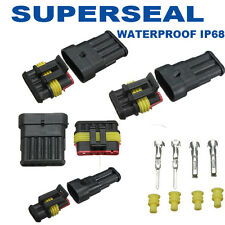 Conector Estanco de 1 a 6  VIAS  20A Superseal Faston Waterproof 12V