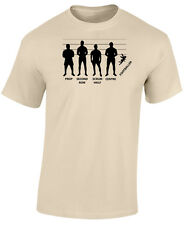 RUGBY T SHIRT - RUGBY LINE UP - NOVELTY RUGBY T SHIRT - 6 NATIONS T SHIRT