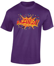 BAZINGA T SHIRT - THE BIG BANG THEORY -SHELDON COOPER - GREAT GIFT