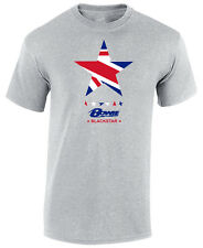 DAVID BOWIE BLACKSTAR T SHIRT - DAVID BOWIE TRIBUTE UNION JACK T- SHIRT