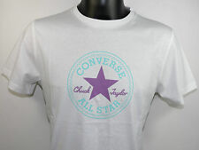 Converse All Star Camiseta T-Shirt CT Parche T 12201 59 Logo blanco todas tallas