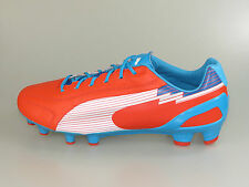 PUMA Scarpa da calcio evoSPEED 1 K FG 102525 06 orange-white-oce NUOVO + .