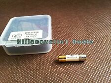 1x Gold Rhodium Plated Create Audio Fuse Slow blow 5×20mm 0.5A 1A 2A 3A 5A fuses
