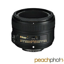 NEW Nikon 50mm f/1.8 G AF-S NIKKOR Lens for Nikon DSLR Digital SLR Camera