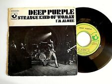 Deep Purple ‎– Strange Kind Of Woman / I'm Alone Label: Harvest ‎– 2 C006-923 ‎