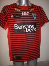 Warrington Wolves 135y Ltd Edition ISC Adult Large Rugby League Shirt Jersey Top