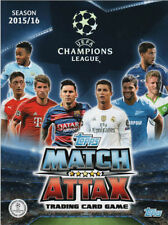 CHAMPIONS LEAGUE MATCH ATTAX 2015-2016 MAN OF THE MATCHES AND TROPHY CARDS