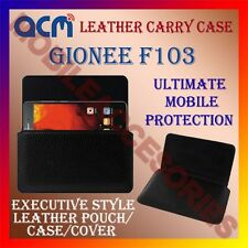 ACM-HORIZONTAL LEATHER CARRY CASE for GIONEE F103 MOBILE COVER HOLDER PROTECTION