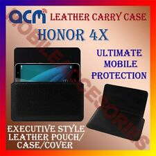 ACM-HORIZONTAL LEATHER CARRY CASE for HONOR 4X MOBILE COVER HOLDER PROTECTION