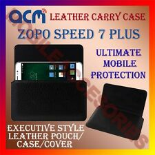 ACM-HORIZONTAL LEATHER CARRY CASE for ZOPO SPEED 7 PLUS MOBILE COVER HOLDER NEW
